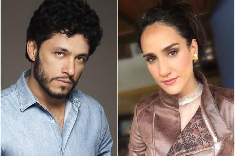 Santiago Alarcón y su esposa, Cecilia Navia.