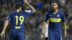Mauro Zárate y Edwin Cardona (Boca Juniors)