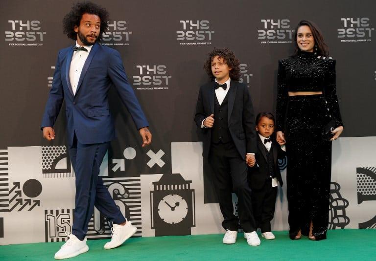 Marcelo Vieira y su familia