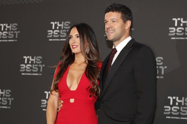 Michael Ballack y su novia