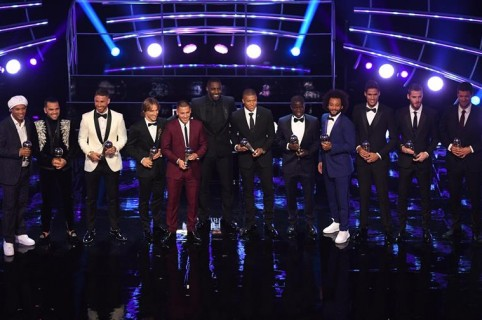 Equipo ideal, premios The Best 2018