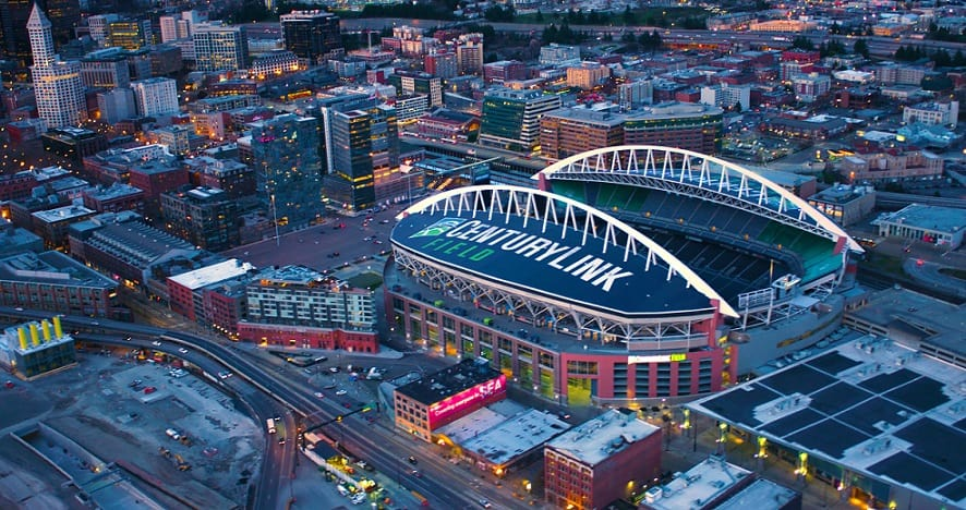Century Link Field Sports Stadium en Seatle