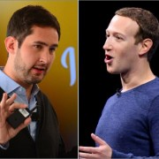 Kevin Systrom y Mark Zuckerberg