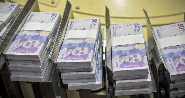 Dinero - billetes Colombia