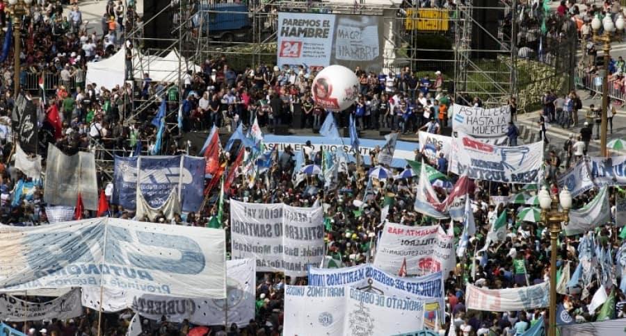 Protestas contra Mauricio Macri