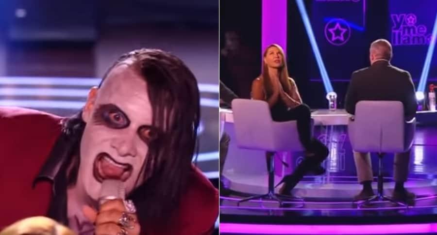 Imitador de Marilyn Manson y Amparo Grisales, jurado de 'Yo me llamo'.