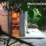 Vivienda en la que ocurrió el doble homicidio en Viotá, Cundinamarca