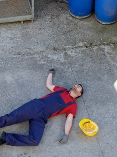 Hombre muerto