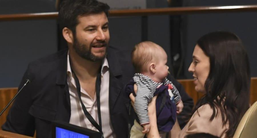 Bebé en la ONU