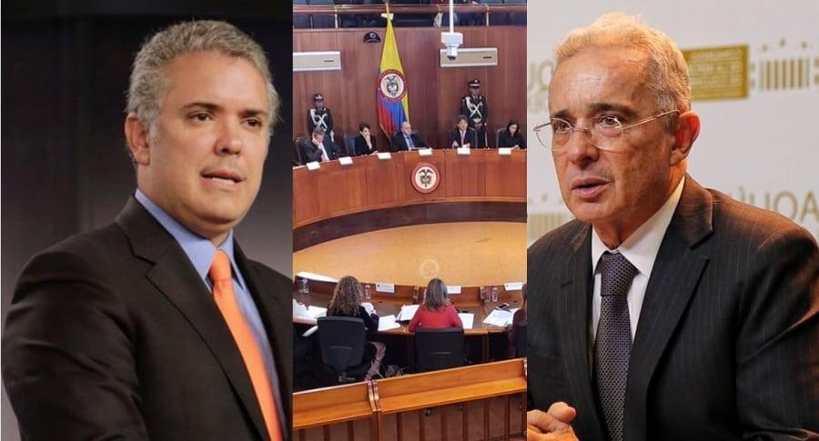 Iván Duque, Corte Constitucional, Álvaro Uribe
