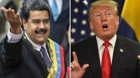Nicolás Maduro y Donald Trump