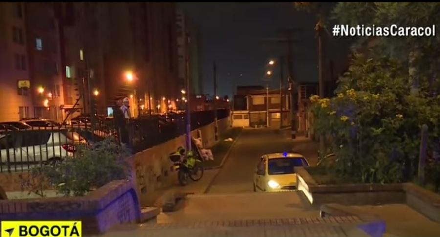 Asesinato de taxista en el sector de Madelena, sur de Bogotá