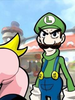 Luigi y la princesa regla 34