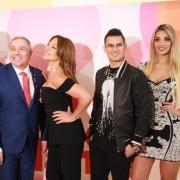 Ernesto Calzadilla, César Escola, Amparo Grisales, Pipe Bueno y Melina Ramírez, de 'Yo me llamo'.