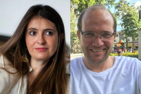 Paloma Valencia y Daniel Samper Ospina