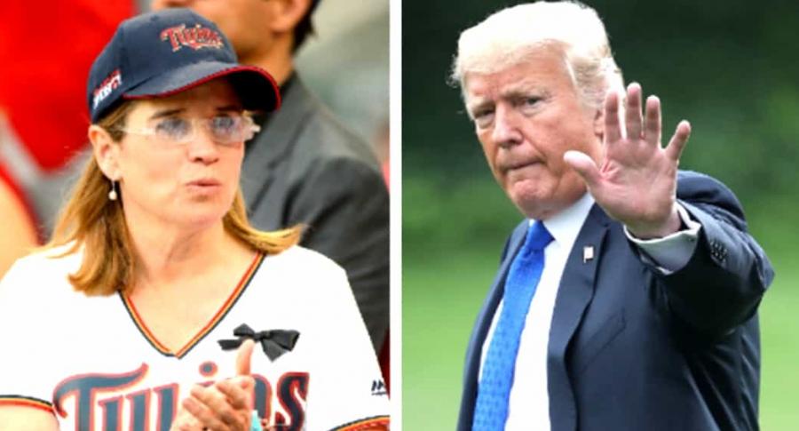 Yulín y Trump