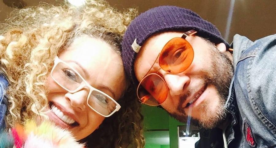 Yolanda Rayo y Alex Serna