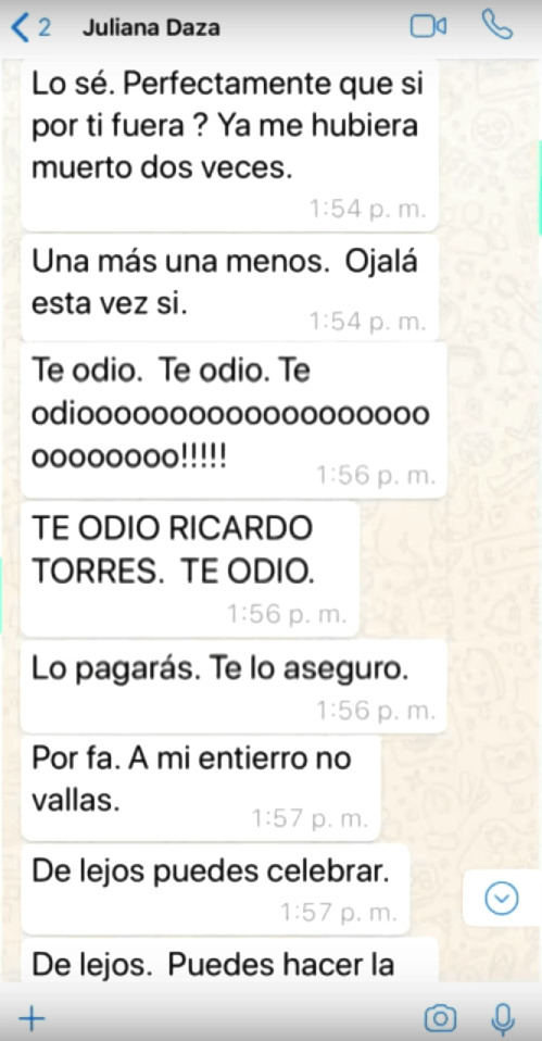Chats Ricardo Torres