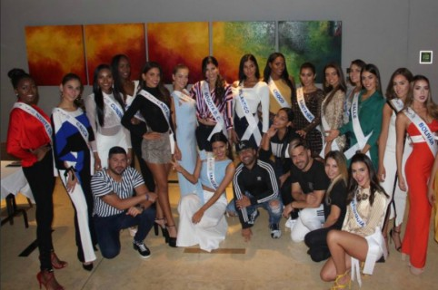 Concursantes al reinado nacional de belleza