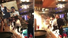 Restaurante de 'Salt Bae' casi se incendia.