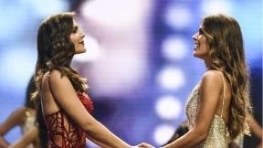 Valeria Morales e Isabella Atehortúa, reina y virreina nacional.