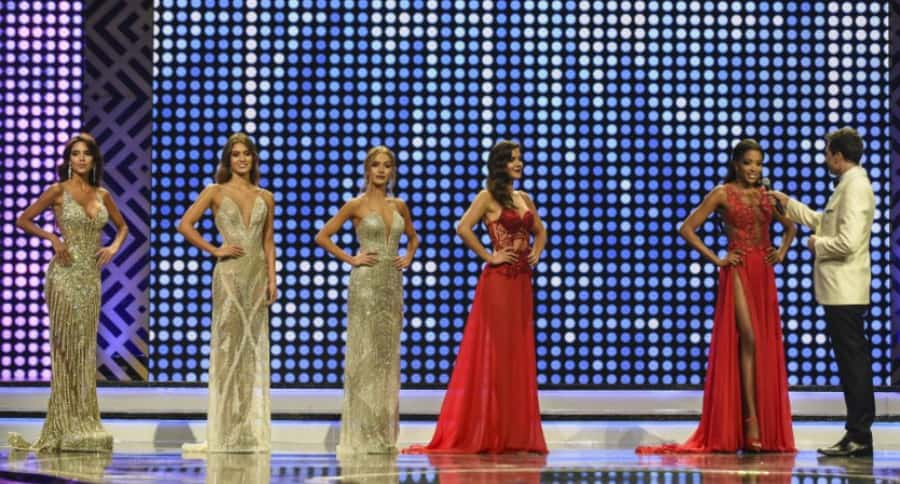 Candidatas a Señorita Colombia en concurso 'Rumbo a Miss Universo'