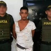 Jainer José Gutiérrez Tafur, procesado por los delitos de hurto agravado y acceso carnal violento