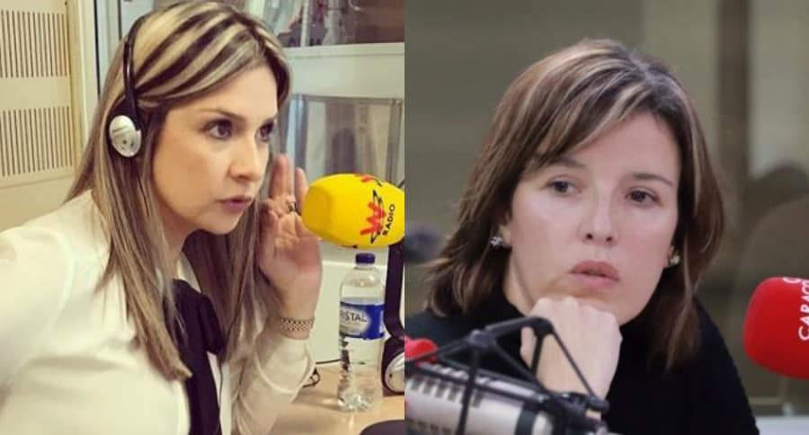 Vicky Dávila y Sandra Borda