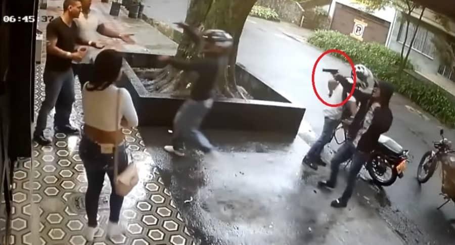 Atraco a turista en Medellín