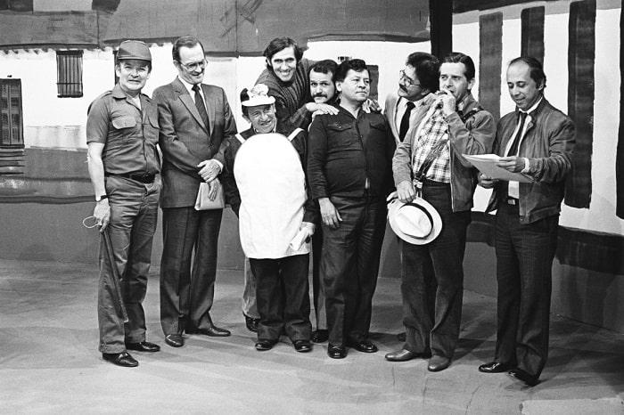 Óscar Meléndez, Enrique Colavizza, 'el Topolino' Zuluaga, 'Mandíbula, 'el hombre caimán', Hugo Patiño, 'el Mocho' Sánchez y Alfonso Lizarazo.