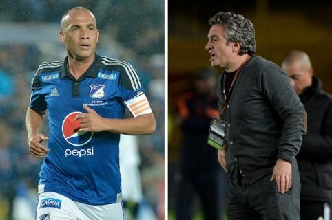 Mayer Candelo y Juan Manuel Lillo