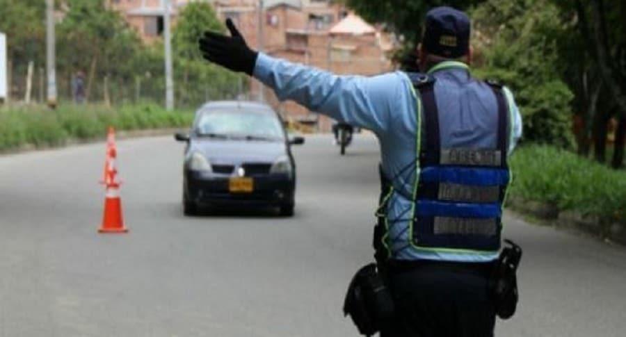 Agente de tránsito