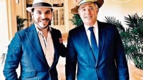 De la Espriella y Álvaro Uribe