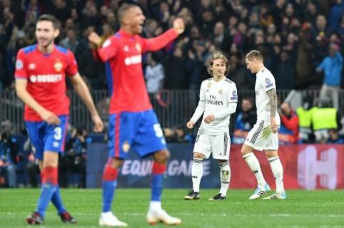 CSKA Moscú vs. Real Madrid