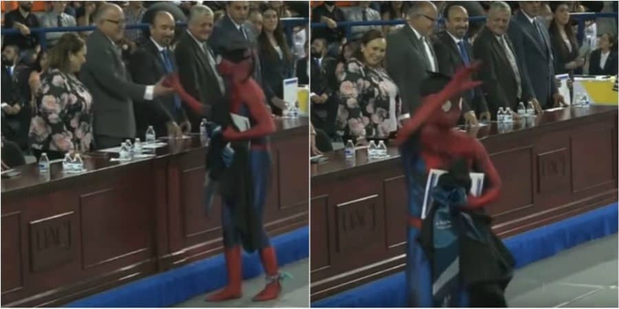 Spiderman Graduación