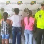 Mujeres capturadas
