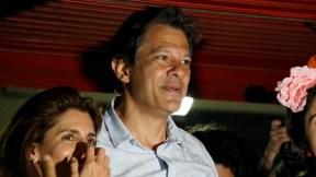 Fernando Haddad, candidato presidencial en Brasil
