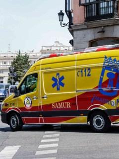 Ambulancia en Madrid
