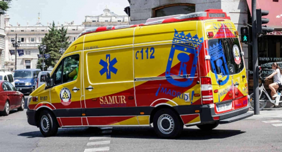 Ambulancia en Madrid