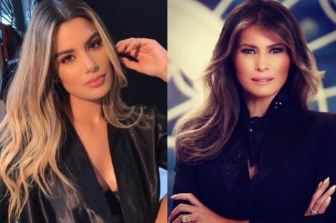 Ariadna Gutiérrez y Melania Trump