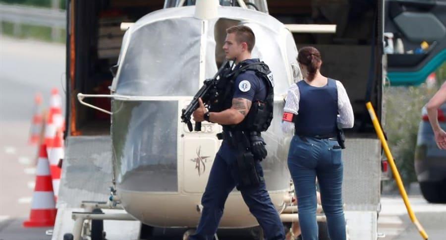 Helicóptero encontrado en Francia