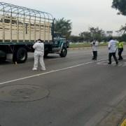 Accidente fatal de motociclista en la avenida NQS