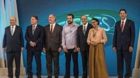 Debate presidencial en Brasil