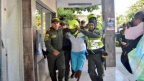 Traslado de Adolfo Arrieta García, acusado de matar a la niña