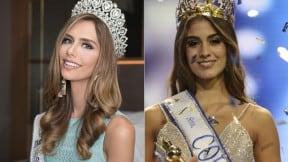 Ángela Ponce y Valeria Morales, reinas.