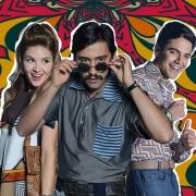 Mariana Gómez, Variel Sánchez y Sebastián Carvajal, actores.
