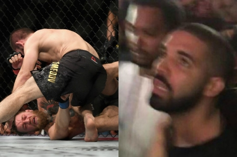 Pelea de Khabib vs. McGregor y la reacción de Drake