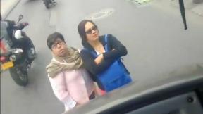 Mujeres obstruyen paso del SITP