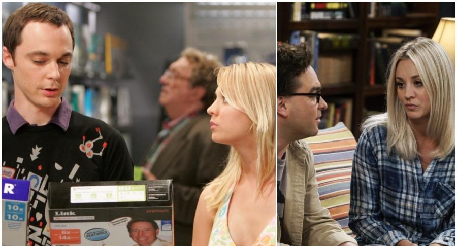 Sheldon y Penny / Leonard y Penny