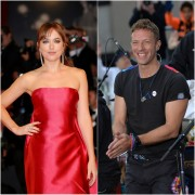 Dakota Johnson y Chris Martin